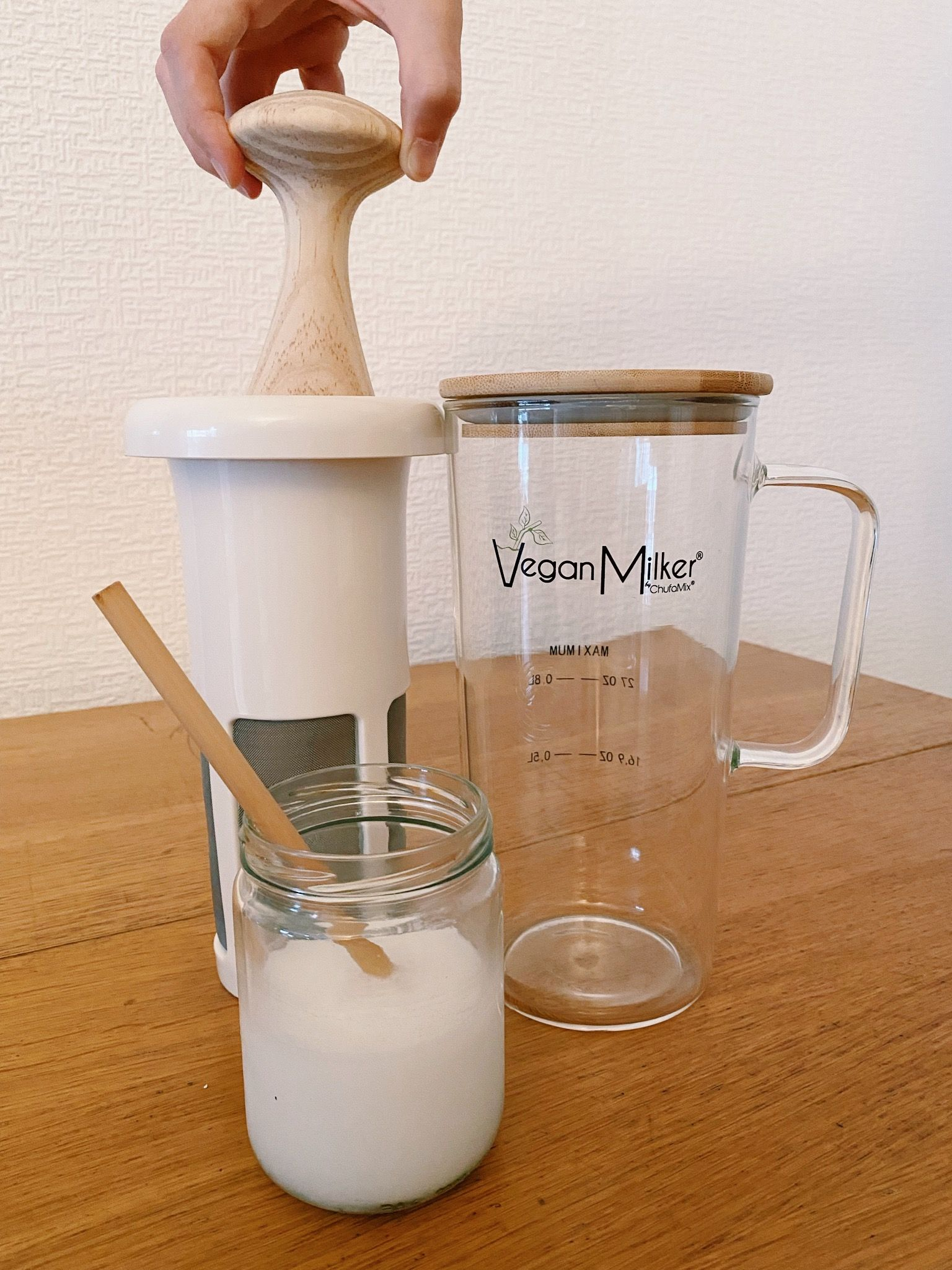 leche de avena con chufamix