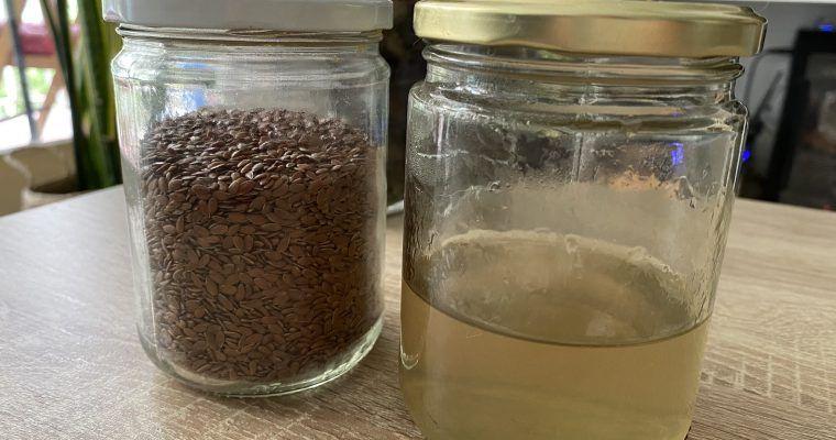 acondicionador con semillas de lino para el cabello