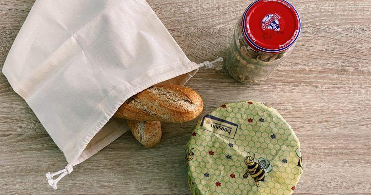 5 formas de guardar comida sin usar plástico de un solo uso