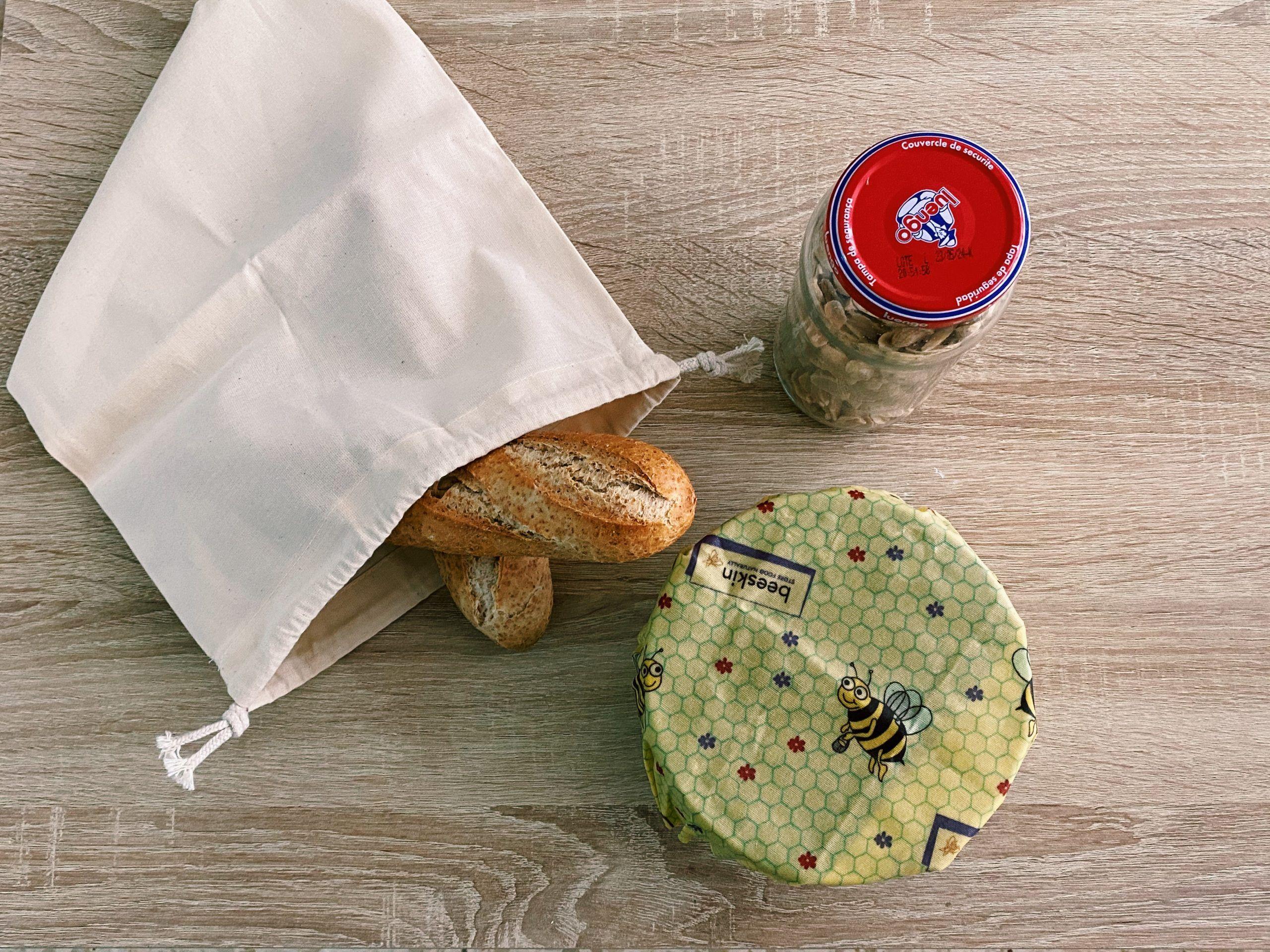 guardar comida sin plástico
