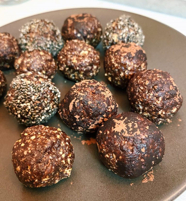 energy balls de cacao