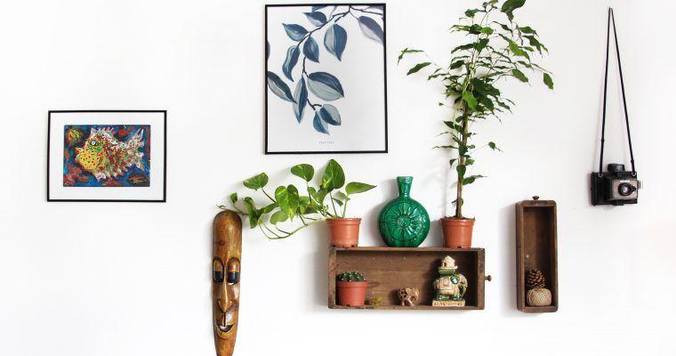 decoración sostenible en casa