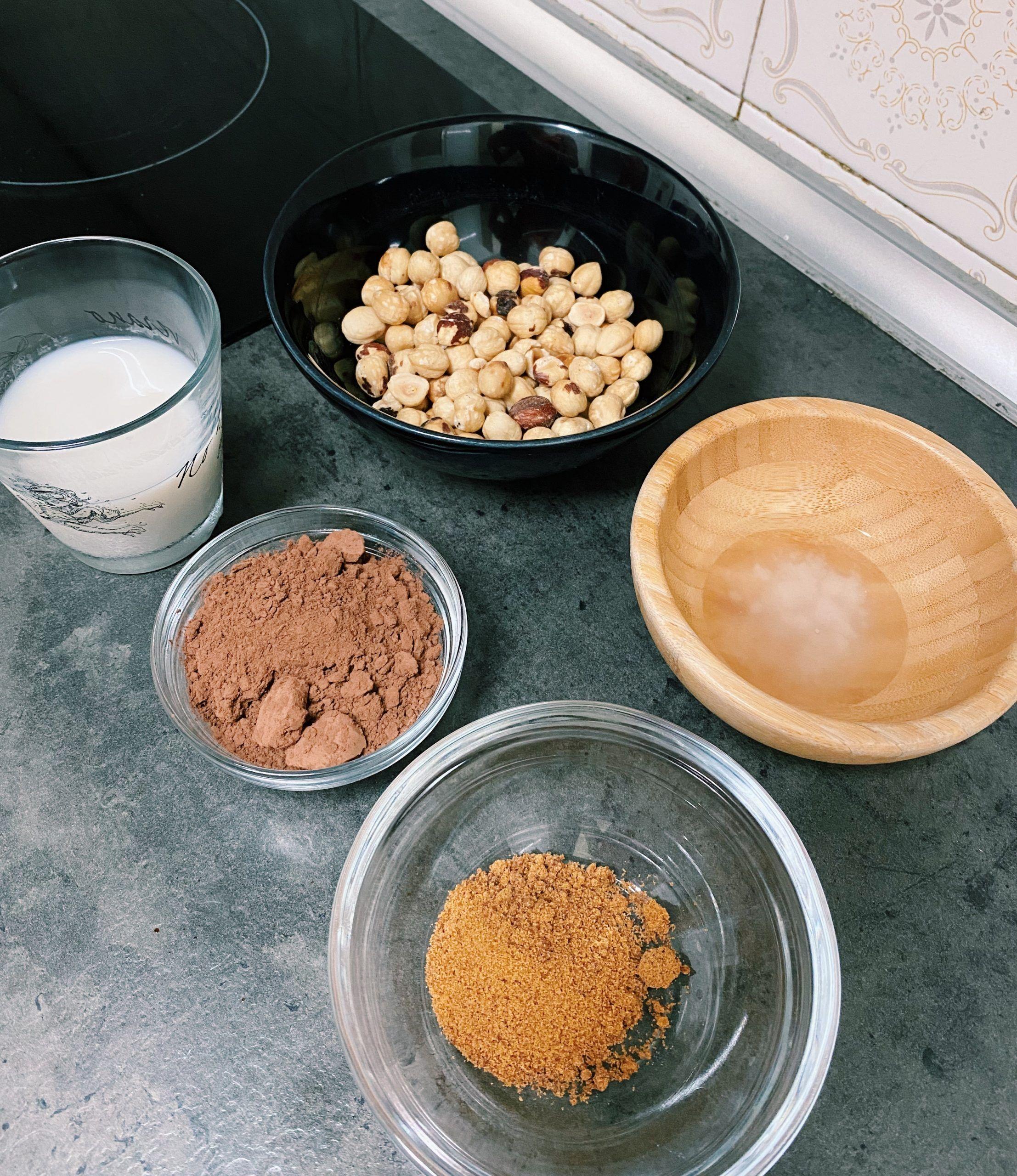ingredientes nutella casera