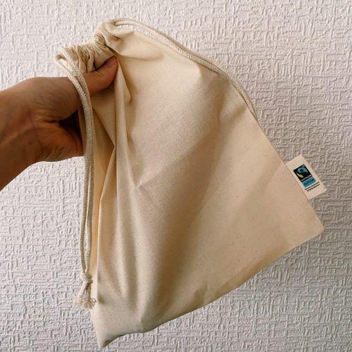 Bolsa de algodón orgánico