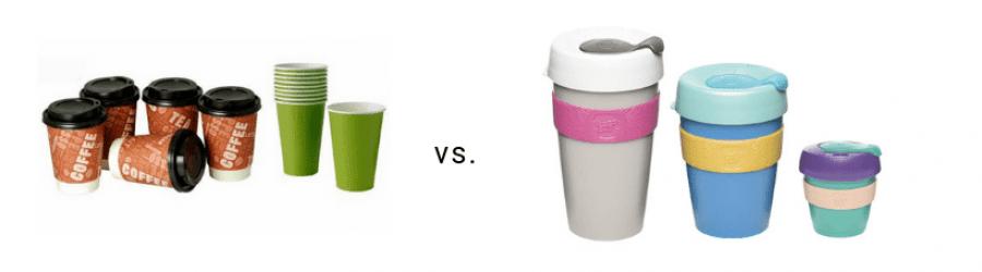Vasos café reutilizables